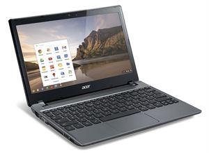 """Acer Chromebook C730 11.6"""" HD WXGA - Intel Quad Core, 4GB RAM, 16GB SSD, ChromeOS, 3 Year Warranty"""