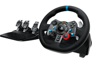 Logitech G29 Driving Force Racing Wheel For PC, PS3 & PS4