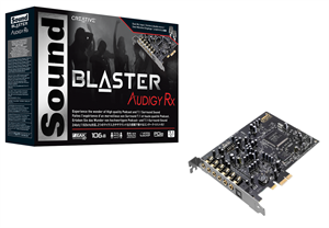 Creative Soundblaster Audigy RX PCI Express Sound Card