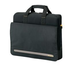 "17"" Targus Citygear Seattle SLIMLITE Laptop Case BK&YLW"""
