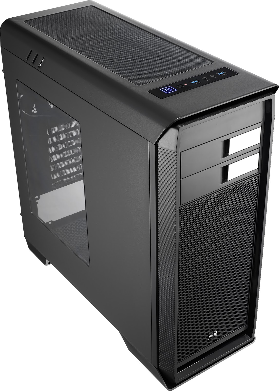 Aerocool PGS Aero 1000 Mid Tower Case - Black