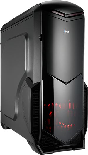 Aerocool Battlehawk Mid Tower Case Black