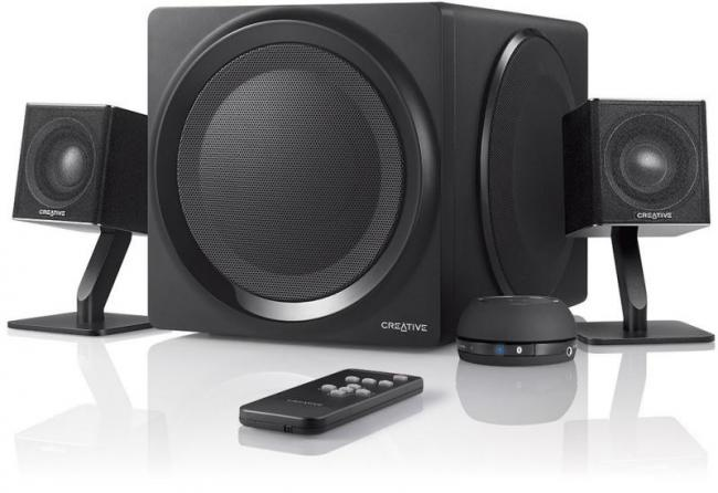 creative computer speakers. creative t4 wireless 2.1 speaker system with nfc (51mf0430aa003) | centre com : best pc hardware prices! computer speakers