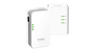 D-Link PowerLine AV 500 Wireless N Mini Starter Kit - DHP-W311