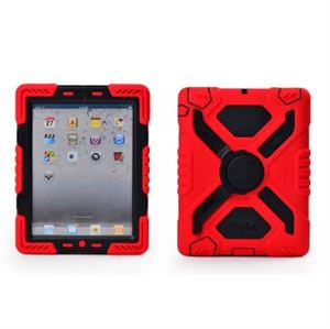 iPAD AIR Pepkoo Case - Red/Black