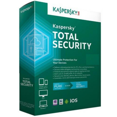 Kaspersky Total Security - 1 Year OEM With CD