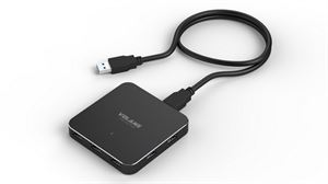 Volans Ultra-Thin 7-Port USB3.0 Hub - Aluminium