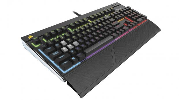 Corsair Gaming Strafe RGB Mechanical Gaming Keyboard - Cherry MX Red Switches