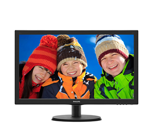 "Philips 223V5LHSB2 21.5"" VGA HDMI Monitor"