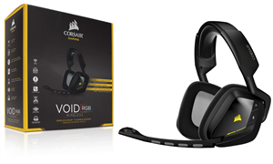 Corsair Gaming Void Carbon Wireless Dolby 7.1 Gaming Headset