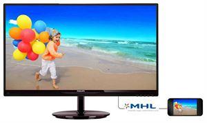 "Philips 27"" Full-HD 1920 x 1080 AH-IPS LED Monitor - VGA, 2 x HDMI, MHL, Speakers, Vesa-Mountable - 274E5QHAB"