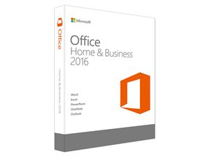 Microsoft Office Home and Business 2016 - 1 Licence, Medialess