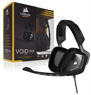 Corsair Gaming Void Dolby 7.1 Surround Sound USB Gaming Headset - Carbon