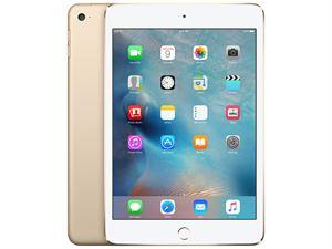 Apple iPad Mini 4 With Retina, Wi-Fi + Cellular,  16GB Storage - Gold - MK712X/A