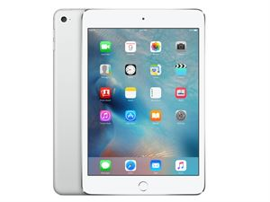 Apple iPad Mini 4 With Retina, Wi-Fi + Cellular, 16GB Storage - Silver - MK702X/A