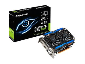 Gigabyte GeForce GTX 960 OC 4GB GDDR5 Gaming Graphics Card