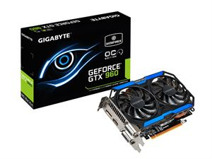 Gigabyte GeForce GTX 960 OC 2GB GDDR5 Graphics Card