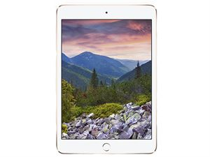 Apple iPad Mini 4 With Retina - Wi-Fi + Cellular, 128GB Storage - Gold - MK782X/A