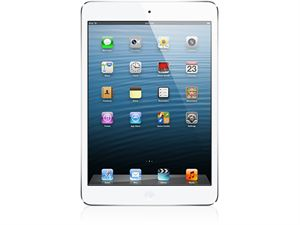 Apple iPad Mini 4 With Retina - Wi-Fi + Cellular, 128GB Storage - Silver - MK772X/A