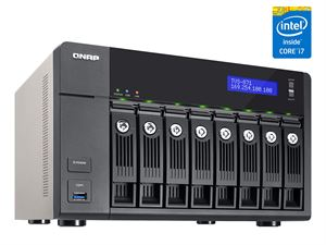 Qnap TVS-871 8-Bay High End NAS - Core i7-4790S, 16GB RAM, 4 x Ethernet - TVS-871-I7-16G