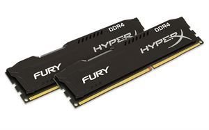 16GB (8GBx2) Kingston Hyper X DDR4 2666Mhz CL15 - HX426C15FBK2