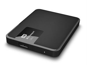 Western Digital My Passport Ultra 1TB External USB 3.0 Hard Drive with Backup Software, Black - WDBGPU0010BBK
