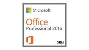 Microsoft Office Professional 2016 32/64Bit OEM Label - 1 Licence, Medialess