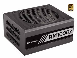 Corsair RM1000X Fully Modular 80+ Gold 1000w Power Supply - CP-9020094-AU