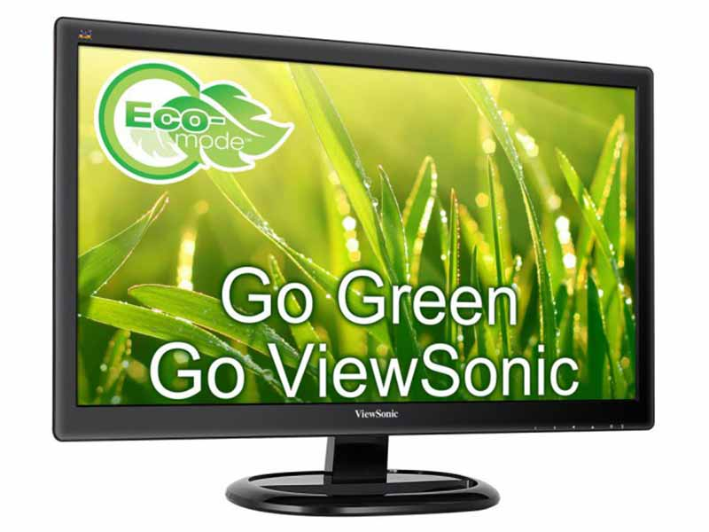 "Viewsonic 23.6"" Full-HD LED 1920 x 1080 Monitor, DVI, VGA - VA2465S"