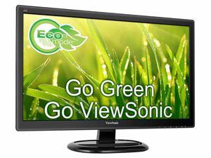"Viewsonic 23.6"" Full-HD LED 1920 x 1080 Monitor, DVI, VGA - VA2465S"