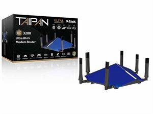 D-Link Taipan AC3200 Ultra Wi-Fi Modem Router - DSL-4320L