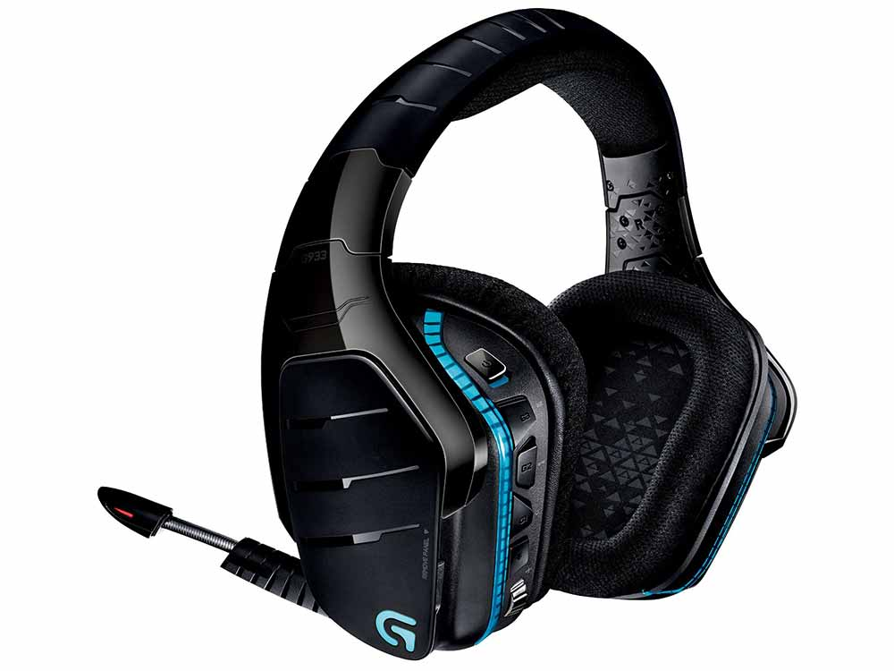 Logitech G933 Artemis Spectrum RGB 7.1 Wireless Gaming Headset