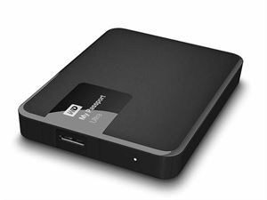 Western Digital My Passport Ultra 3TB External USB 3.0 Hard Drive With Back-up Software -  WDBBKD0030BBK