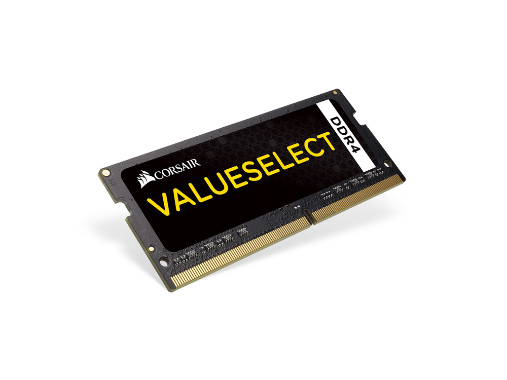 corsair valueselect 8gb 1x8gb ddr4 2133mhz c15 sodimm ram. Black Bedroom Furniture Sets. Home Design Ideas