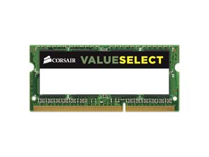 Corsair 8GB 1600Mhz SODIMM DDR3L Value Select (1x8GB)