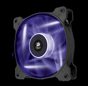 Corsair Air Series SP120 Quiet Edition High Static Pressure 120mm Fan - Purple