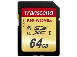 Transcend SDXC UHS-I 64GB SD Card - TS64GSDU3