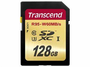 Transcend SDXC UHS-I 128GB SD Card - TS128GSDU3