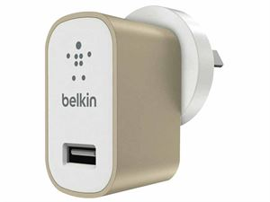 Belkin MixItUp Premium Universal USB Wall Charger - Metallic Gold