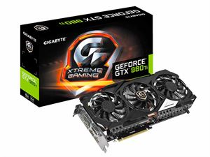 Gigabyte GeForce GTX 980Ti Xtreme 6GB GDDR5 Gaming Graphics Card - N98TXTREME-6GD
