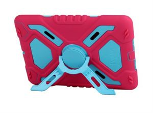 iPad Air Pepkoo Case - Pink/Blue