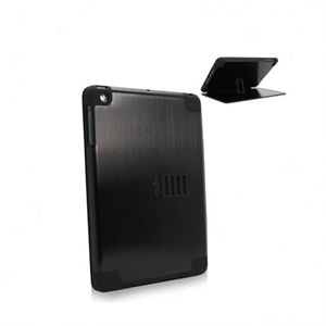 Obien iPad Mini 1 Case/Stand Space Aluminium - Black