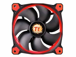 ThermalTake Riing 120mm Red LED Static Pressure Optimised Case Fan