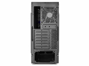 Deepcool Tesseract Mid-Tower USB 3.0 Case with Window - Blue/Black