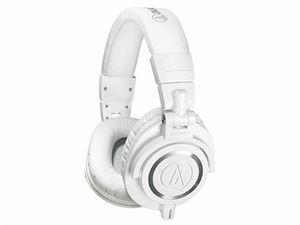 Audio-Technica M50X Premium Studio Monitoring Headphones - White - ATH-M50X-WH