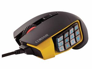Corsair Scimitar RGB MOBA/MMO Adjustable Optical Gaming Mouse