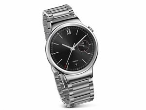 Huawei W1 Smart Watch - Silver Steel with Link Strap