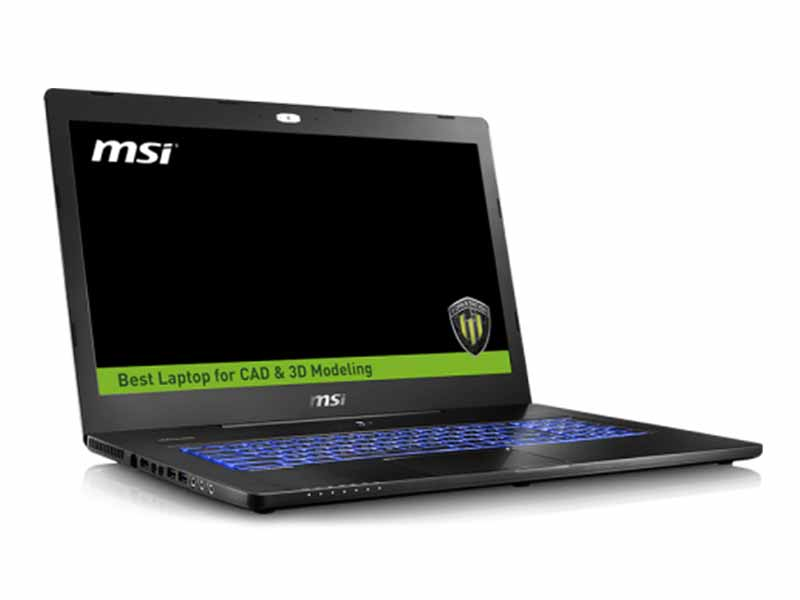 "MSI WS72 17.3"" Full-HD Xeon, M2000M Quadro Workstation Laptop - 6QJ-019AU"
