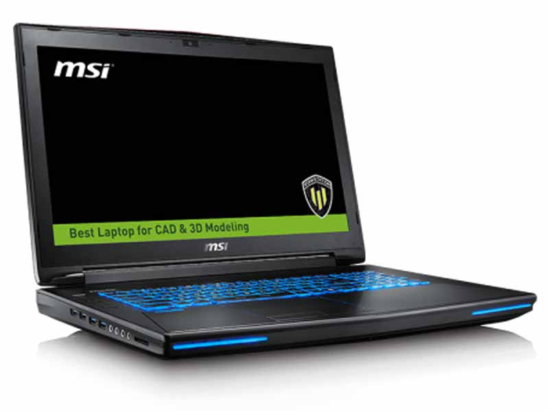 "MSI WT72 17.3"" Full-HD Intel Xeon, M3000M Quadro Workstation Laptop - 6QK-494AU"