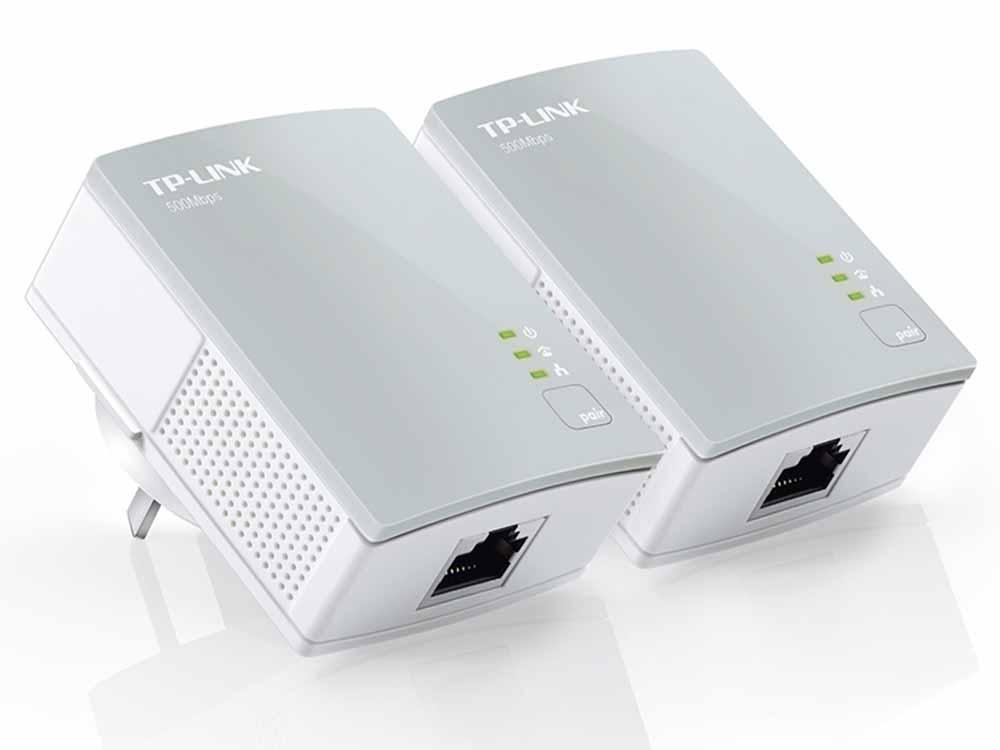 TP-Link PA411 AV500 Mini Powerline Adapter Starter Kit